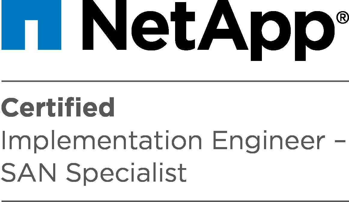 Certification Netapp